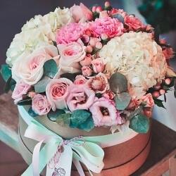 """Цветы в коробках коллекция """"FLOWERS BOX"""""""