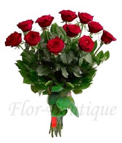 Букет из 11 красных роз (премиум)
