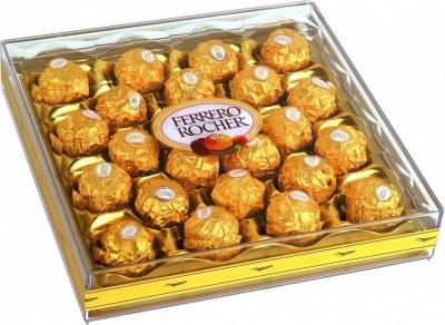 """Конфеты в квадратной коробке """"Ferrero Rocher"""""""