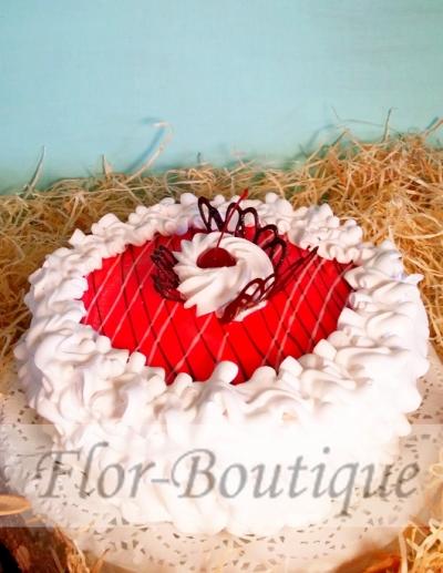Торт сливочно - бисквитный