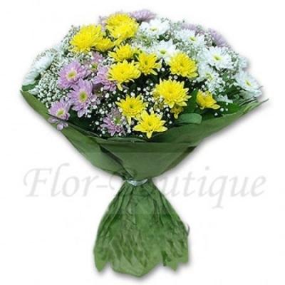 Букет из хризантем.Доставка цветов Хабаровск.