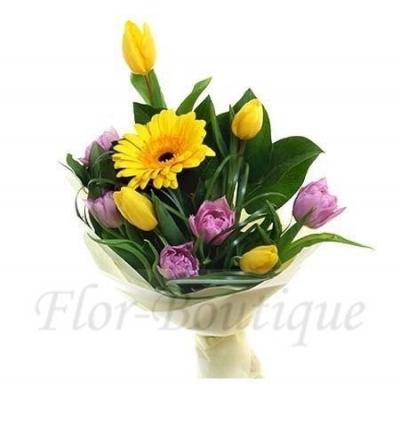 Красивыебукеты. Тюльпаны.Доставка цветов Хабаровск.