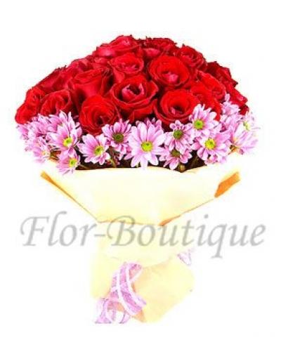 Букет с розами.Купить цветы.