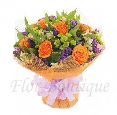 Букет красивых цветов.Цветы Хабаровска.